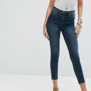 Free People Hi-Rise Skinny Stretch Jeans Size 27